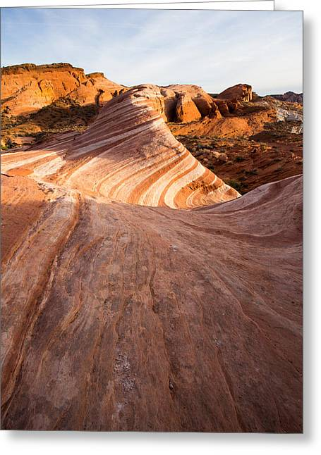 Layers Within Greeting Card by Bill Cantey