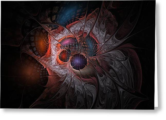 Sacred Digital Greeting Cards - Lazarus Eleven Greeting Card by NirvanaBlues