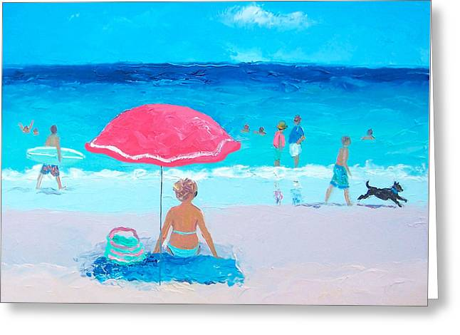 Ocean Art. Beach Decor Greeting Cards - Lazy Days Greeting Card by Jan Matson