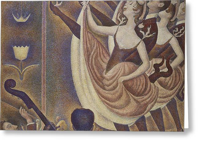 Le Chahut Greeting Card by Georges Pierre Seurat