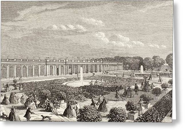 Trianon Greeting Cards - Le Grand Trianon, Versailles, France In Greeting Card by Ken Welsh