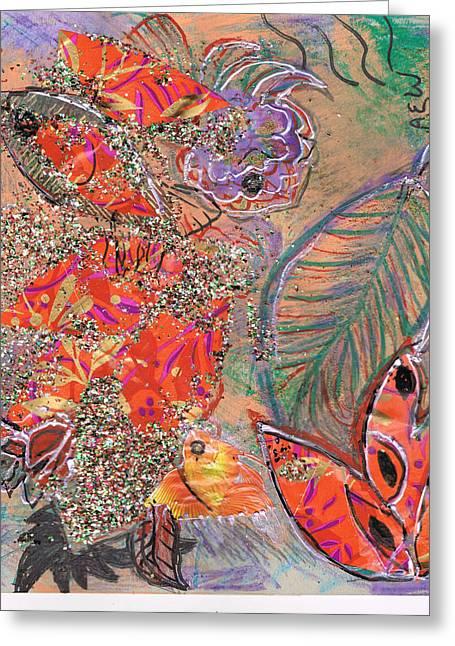 My Ocean Greeting Cards - Leaving All Behind Greeting Card by Anne-Elizabeth Whiteway