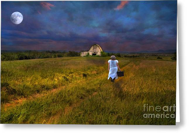 Leaving Greeting Card by Darren Fisher