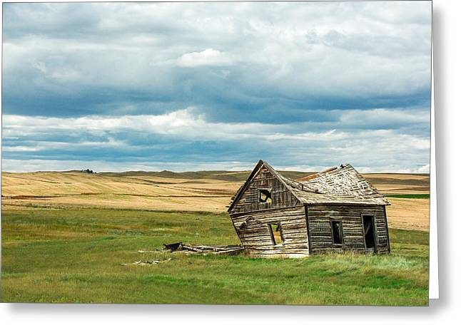 Leaving Home Greeting Card by Todd Klassy