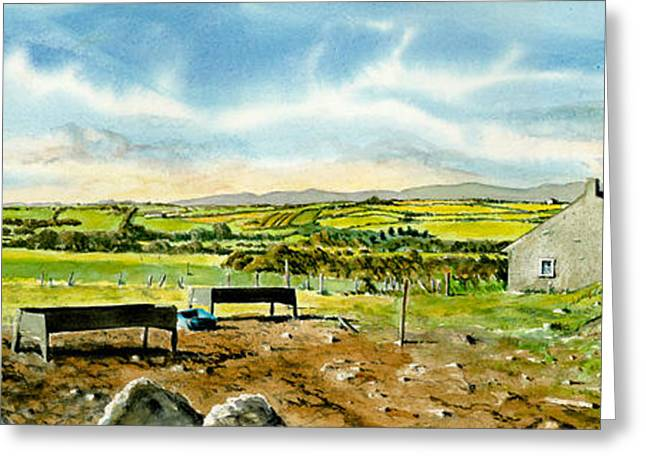 Stone House Greeting Cards - Leaving Wicklow Greeting Card by Tom Hedderich