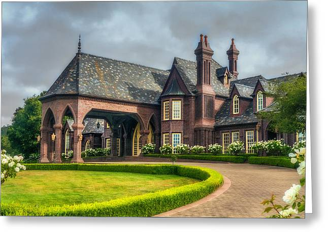 Ledson Winery 3 Greeting Card by Phil Clark