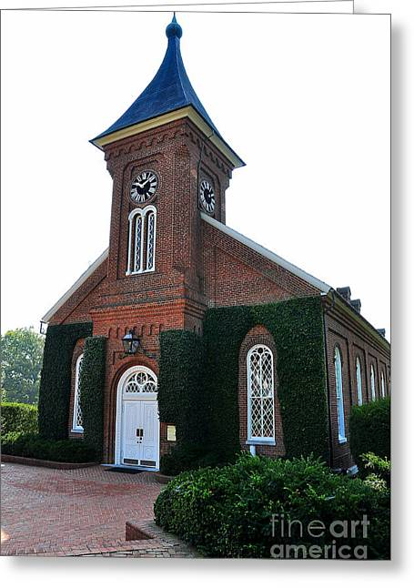 Lee Chapel Greeting Cards - Lee Chapel Greeting Card by Todd Hostetter