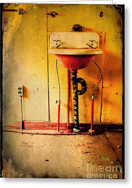 Abandoned Houses Greeting Cards - Left And Forgotten Greeting Card by Michael Eingle