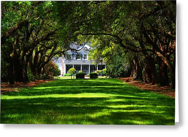 Plantation Greeting Cards - Legare Waring House Charleston SC Greeting Card by Susanne Van Hulst
