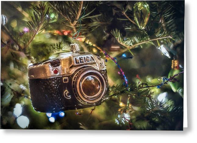 Leica Christmas Greeting Card by Scott Norris