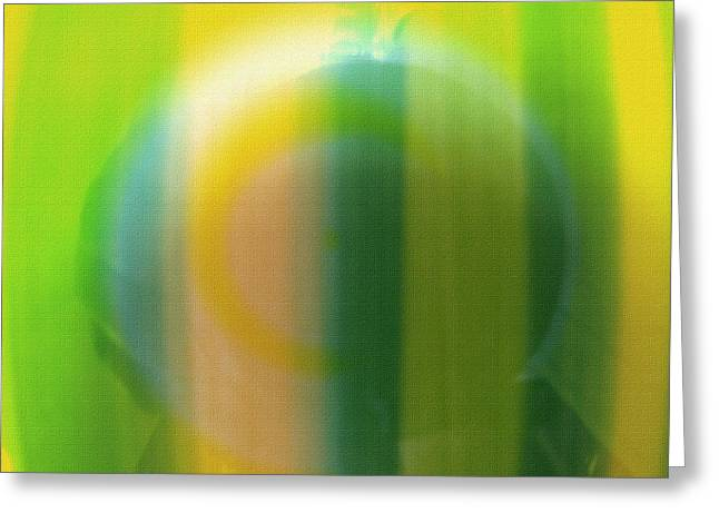 Lemon Art Greeting Cards - Lemon-Lime Sherbet Greeting Card by Lisa S Baker