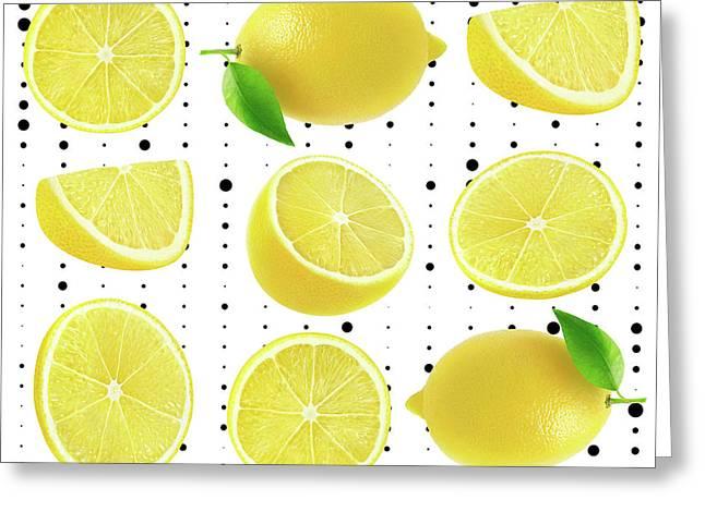 Lemon  Greeting Card by Mark Ashkenazi