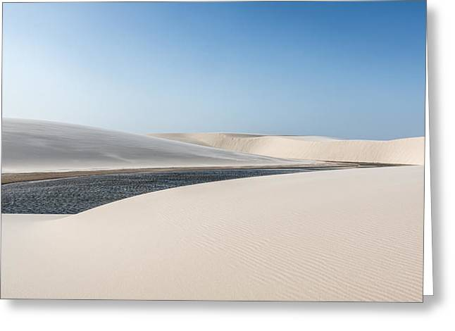 Dunes Greeting Cards - Lena?a?is Maranhenses Greeting Card by Alfred Myers