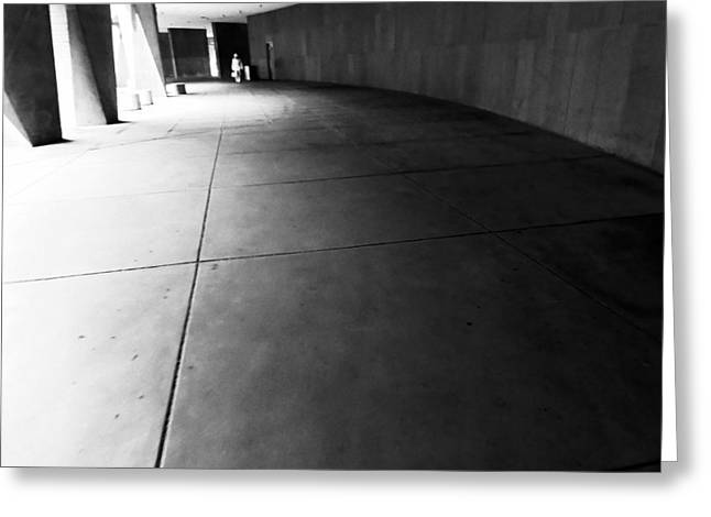 Anonymity Greeting Cards - LEnfant Plaza I Greeting Card by Julie Niemela