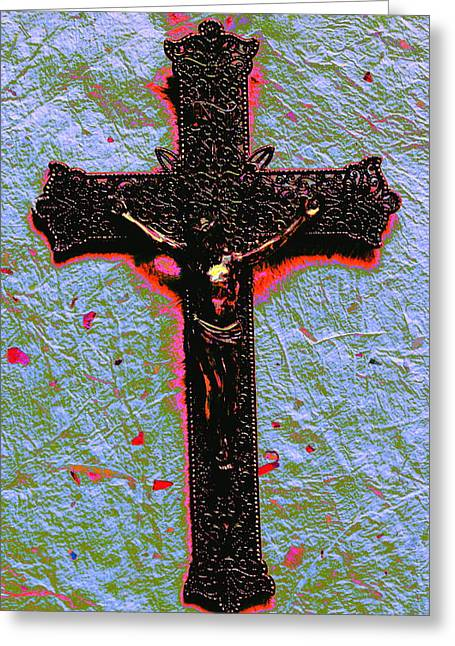 Lent Greeting Card by M Diane Bonaparte