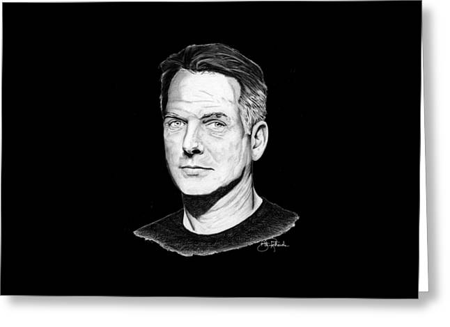 Mark Harmon Greeting Cards - Leroy Gibbs Greeting Card by Bill Richards
