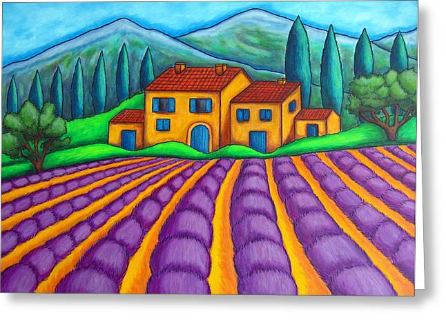 Lisa Lorenz Greeting Cards - Les Couleurs de Provence Greeting Card by Lisa  Lorenz
