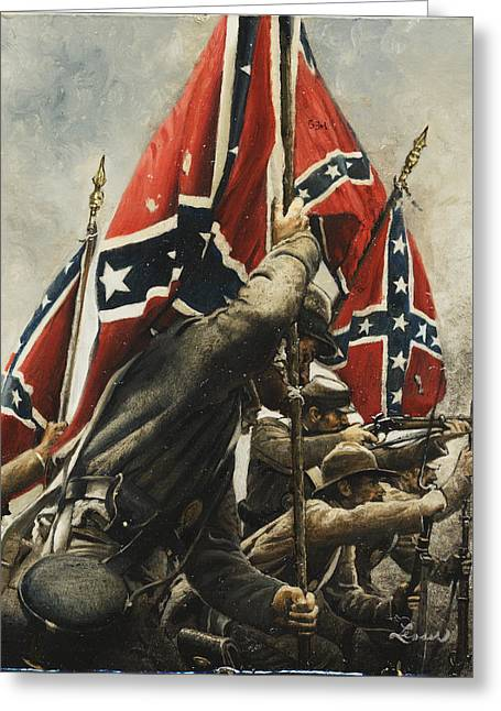 Confederate Flag Greeting Cards - They Are Ours Greeting Card by Ron Lesser