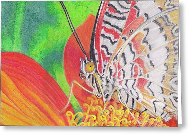 Leopard Photographs Greeting Cards - Let Go Greeting Card by Amy Tyler