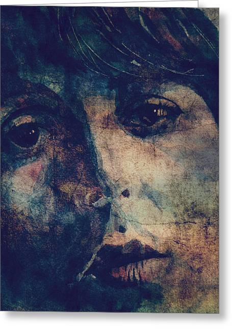 The Beatles Images Greeting Cards - Let It Roll / 2 Greeting Card by Paul Lovering