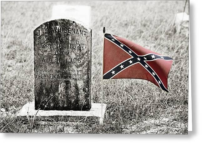 Let Racism Die Greeting Card by Marilyn Hunt