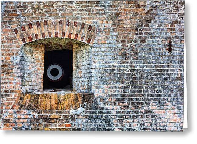 Florida Panhandle Greeting Cards - Let the Cannons Thunder Greeting Card by JC Findley