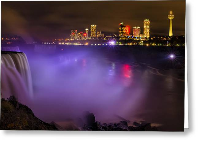 Famous State Parks Greeting Cards - Let there be light Greeting Card by Mark Papke