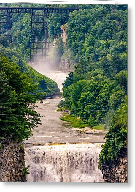 Finger Lakes Greeting Cards - Letchworth State Park 6 Greeting Card by Steve Harrington