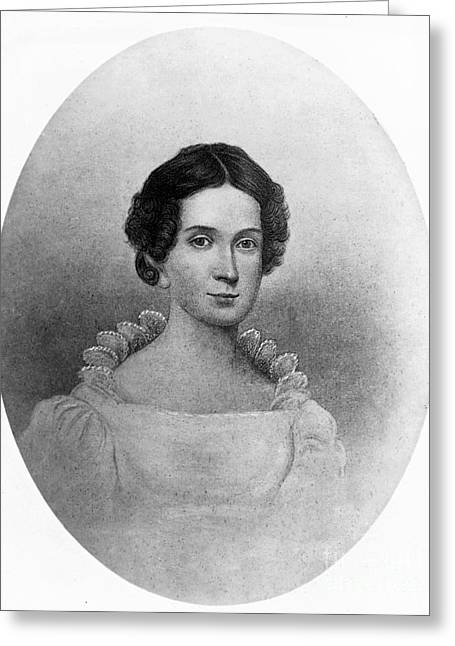 Letitia Tyler, First Lady Greeting Card by Science Source