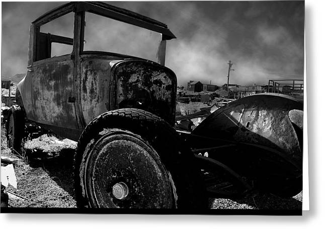 Mining Photos Greeting Cards - Lets Drive Greeting Card by Bryan Steffy