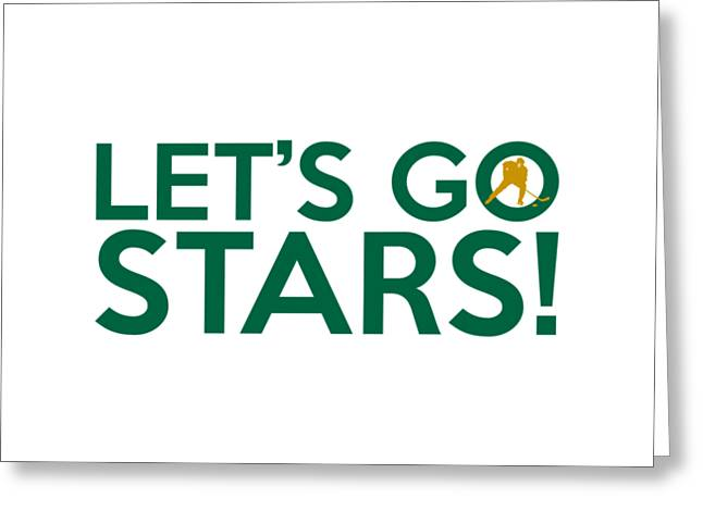 Texas Greeting Cards - Lets Go Stars Greeting Card by Florian Rodarte