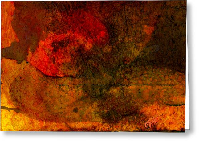 Abstract Expression Greeting Cards - Levelland TX.- Dusty Dusk Greeting Card by Ken OToole