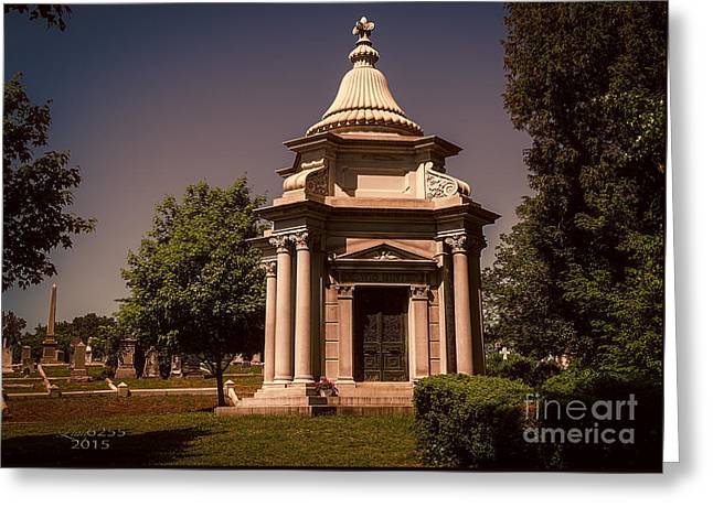 Civil Greeting Cards - Lewis Ginters Final Resting Place Greeting Card by Melissa Messick