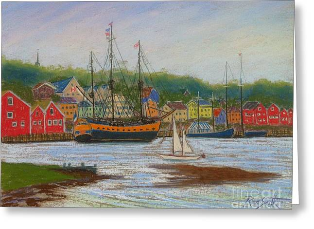 July Pastels Greeting Cards - LHermione Greeting Card by Rae  Smith