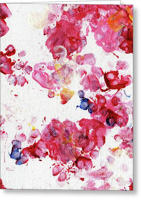 Paw Print Greeting Cards - Lians Garden Greeting Card by Antony Galbraith