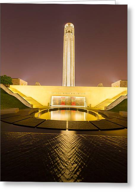 Liberty Memorial On July 24 2015 Greeting Card by Tommy Brison