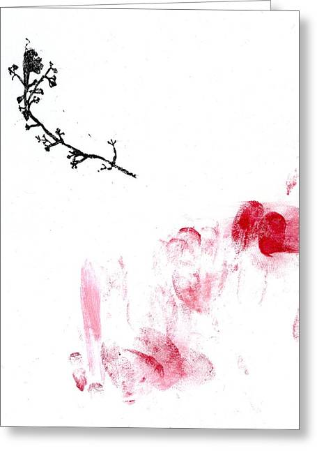 Tasteful Art Greeting Cards - Lichen Greeting Card by Bella Larsson
