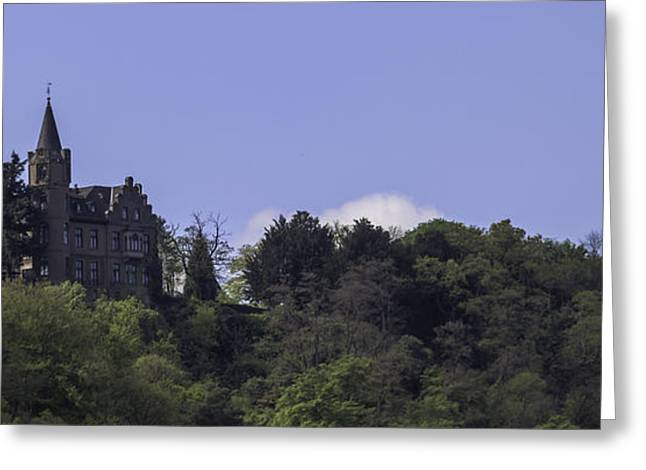 Tourist Greeting Cards - Liebeneck Castle 01 Greeting Card by Teresa Mucha