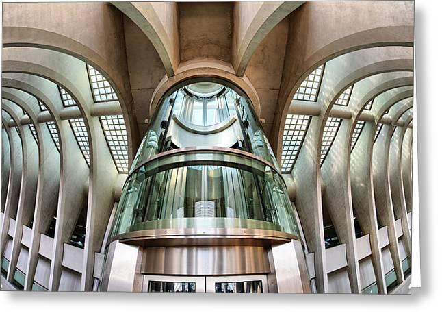 Calatrava Greeting Cards - Liege-guillemins Greeting Card by Martin Fleckenstein