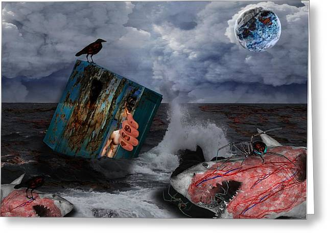 Black Widow Greeting Cards - Life Cycle Greeting Card by Solomon Barroa