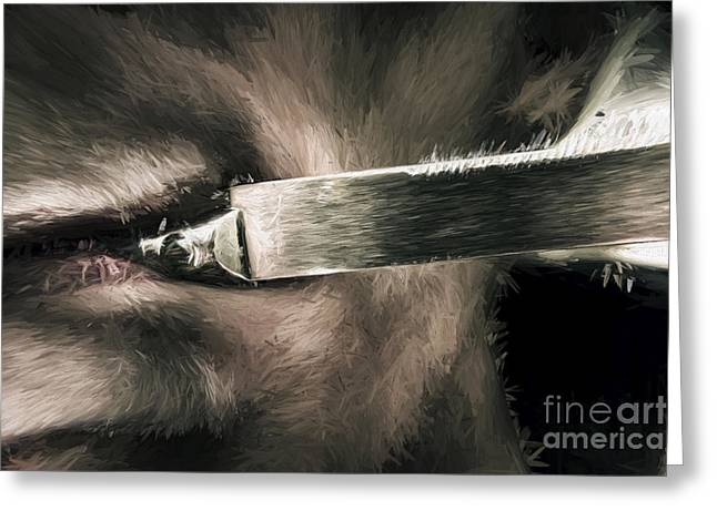 Life In The Knife Trade Greeting Card by Jorgo Photography - Wall Art Gallery