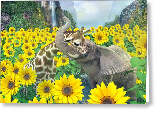 Life Is Good Greeting Card by Betsy C Knapp