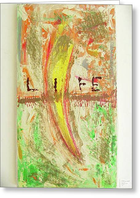 Air Sculptures Greeting Cards - Life Greeting Card by Neda Laketic