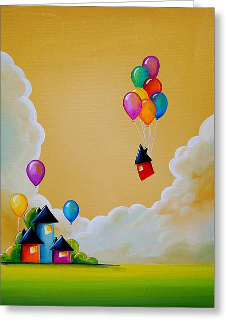 Imagination Greeting Cards - Life Of The Party Greeting Card by Cindy Thornton