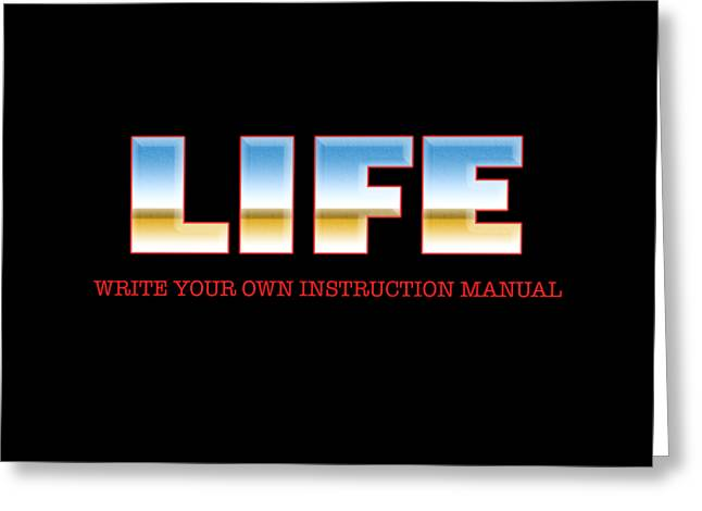 Life Experience. Wise Greeting Cards - Life Greeting Card by Rich Mason