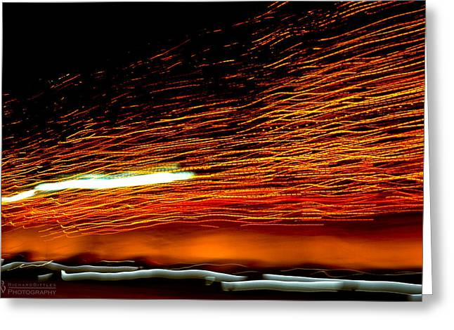 Beach Photography Greeting Cards - Life Sparks Greeting Card by Richard Bittles