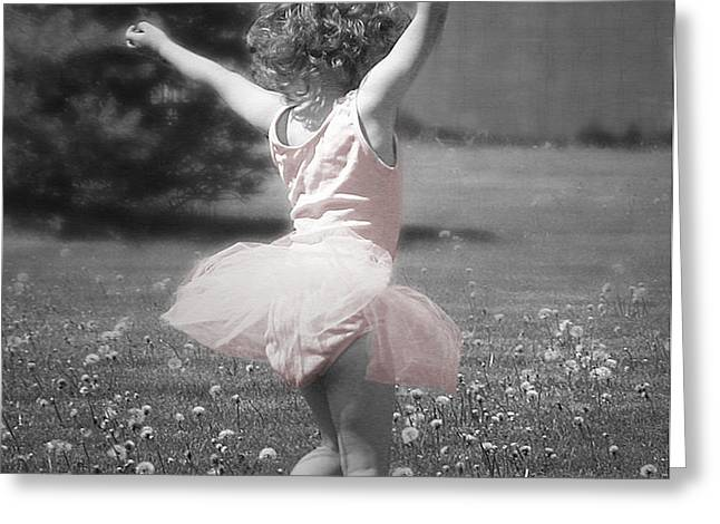 Life's a Dance Greeting Card by Cindy Singleton
