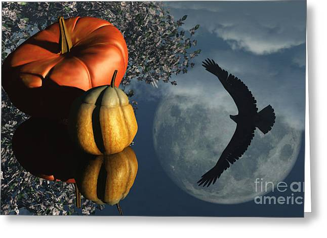 Reflection Harvest Mixed Media Greeting Cards - Lifes Reflections Greeting Card by Richard Rizzo