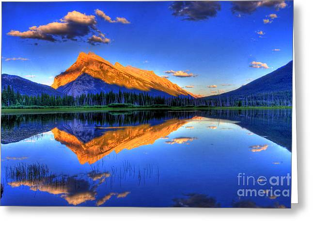 Canada Landscape Greeting Cards - Lifes Reflections Greeting Card by Scott Mahon