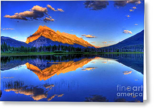 Mountains Greeting Cards - Lifes Reflections Greeting Card by Scott Mahon